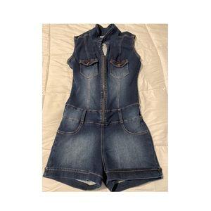 Pants - Jean short dress